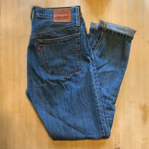 Levi's 501 Skinny, high rise jeans